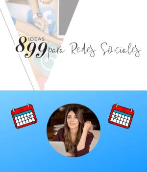 899 ideas para tus redes sociales